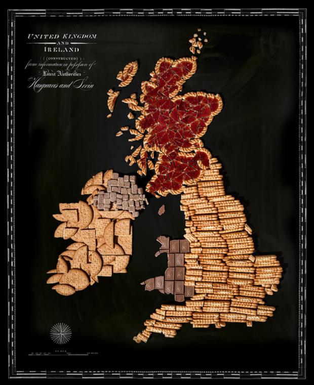 Inghilterra-Food-Map